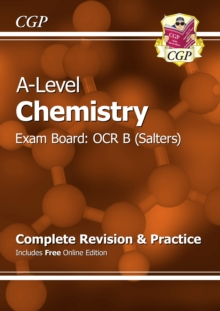 A-Level Chemistry: OCR B Year 1 & 2 Complete Revision & Practice with Online Edition, Paperback Book