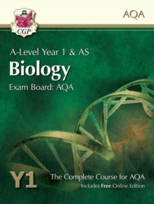New A-Level Biology for AQA: Year 1 & AS Student Book with Online Edition, Paperback Book