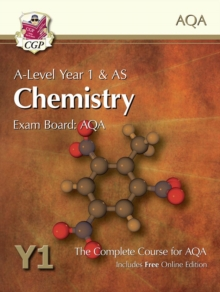 New A-Level Chemistry for AQA: Year 1 & AS Student Book with Online Edition : Exam Board: AQA, Paperback Book