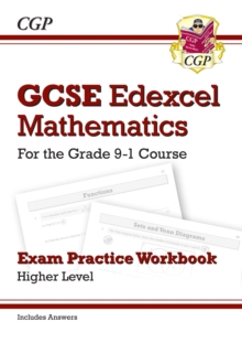 GCSE Maths Edexcel Exam Practice Workbook: Higher - for the Grade 9-1 Course (includes Answers), Paperback / softback Book