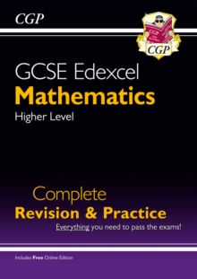 GCSE Maths Edexcel Complete Revision & Practice: Higher - Grade 9-1 Course (with Online Edition), Paperback / softback Book