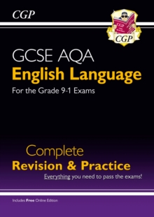 New GCSE English Language AQA Complete Revision & Practice - Grade 9-1 Course (with Online Edition), Paperback Book