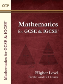 New Maths for GCSE and IGCSE Textbook, Higher (for the Grade 9-1 Course), Paperback Book