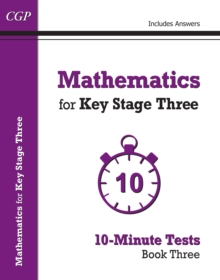 Mathematics for KS3 : 10-Minute Tests Book 3, Paperback Book