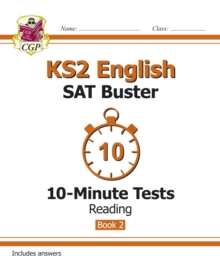 KS2 English SAT Buster 10-Minute Tests: Reading - Book 2 (for the 2020 tests), Paperback / softback Book