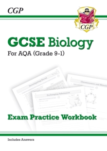 New Grade 9-1 GCSE Biology: AQA Exam Practice Workbook (with Answers), Paperback Book