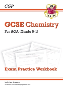 New Grade 9-1 GCSE Chemistry: AQA Exam Practice Workbook (with Answers), Paperback Book