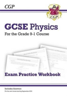New Grade 9-1 GCSE Physics Exam Practice Workbook (with Answers), Paperback / softback Book