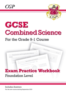 New Grade 9-1 GCSE Combined Science: Exam Practice Workbook (with Answers) - Foundation, Paperback Book
