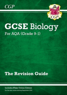 New Grade 9-1 GCSE Biology: AQA Revision Guide with Online Edition, Paperback Book