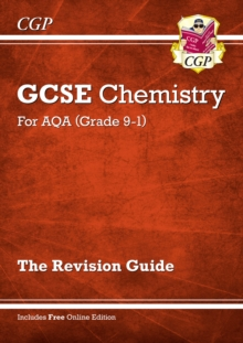 Grade 9-1 GCSE Chemistry: AQA Revision Guide with Online Edition - Higher, Paperback / softback Book
