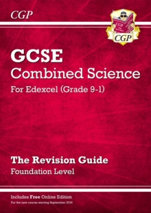 New Grade 9-1 GCSE Combined Science: Edexcel Revision Guide with Online Edition - Foundation, Paperback / softback Book