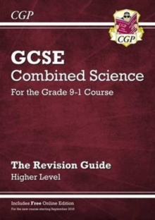 New Grade 9-1 GCSE Combined Science: Revision Guide with Online Edition - Higher, Paperback / softback Book