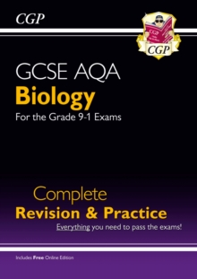 New Grade 9-1 GCSE Biology AQA Complete Revision & Practice with Online Edition, Paperback / softback Book