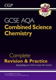 New 9-1 GCSE Combined Science: Chemistry AQA Higher Complete Revision & Practice with Online Edition, Paperback Book