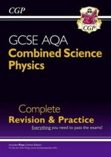 New 9-1 GCSE Combined Science: Physics AQA Higher Complete Revision & Practice with Online Edition, Mixed media product Book