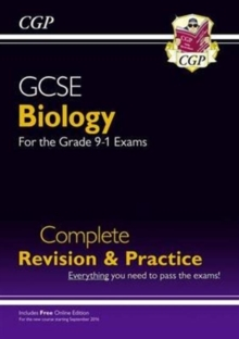 New Grade 9-1 GCSE Biology Complete Revision & Practice with Online Edition, Paperback Book