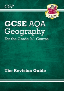 New Grade 9-1 GCSE Geography AQA Revision Guide, Paperback Book