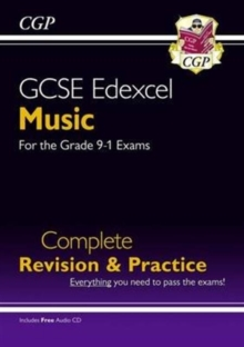 New GCSE Music Edexcel Complete Revision & Practice (with Audio CD) - For the Grade 9-1 Course, Paperback Book