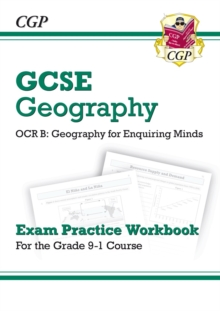 New Grade 9-1 GCSE Geography OCR B: Geography for Enquiring Minds - Exam Practice Workbook, Paperback Book