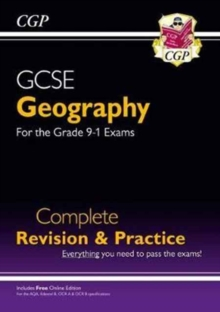 Grade 9-1 GCSE Geography Complete Revision & Practice (with Online Edition), Paperback / softback Book