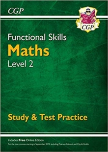 Functional Skills Maths Level 2 - Study & Test Practice, Paperback Book