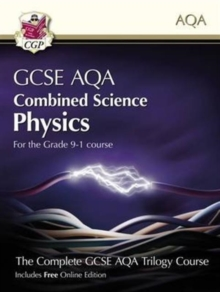 New Grade 9-1 GCSE Combined Science for AQA Physics Student Book with Online Edition, Paperback Book
