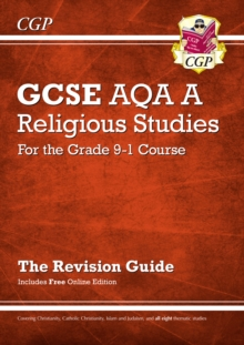 New Grade 9-1 GCSE Religious Studies: AQA A Revision Guide with Online Edition, Paperback Book