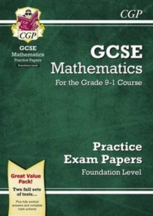 New GCSE Maths Practice Papers: Foundation - For the Grade 9-1 Course, Paperback Book