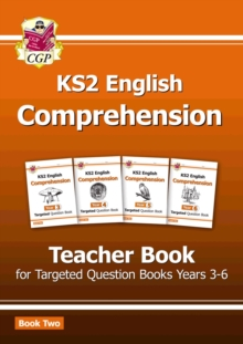 KS2 English Targeted Comprehension: Teacher Book 2, Years 3-6, Paperback / softback Book