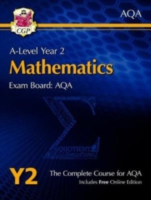 New A-Level Maths for AQA: Year 2 Student Book with Online Edition, Mixed media product Book