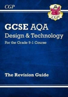 New Grade 9-1 GCSE Design & Technology AQA Revision Guide, Paperback Book