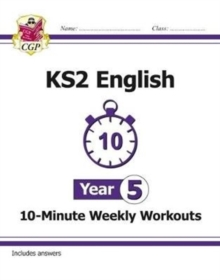 New KS2 English 10-Minute Weekly Workouts - Year 5, Paperback Book