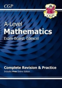New A-Level Maths for Edexcel: Year 1 & 2 Complete Revision & Practice with Online Edition, Mixed media product Book