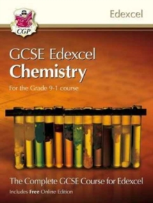 Grade 9-1 GCSE Chemistry for Edexcel: Student Book with Online Edition, Paperback / softback Book