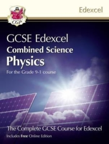 New Grade 9-1 GCSE Combined Science for Edexcel Physics Student Book with Online Edition, Paperback Book