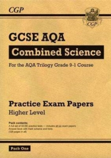 Grade 9-1 GCSE Combined Science AQA Practice Papers: Higher Pack 1, Paperback / softback Book