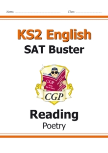 New KS2 English Reading SAT Buster: Poetry (for tests in 2018 and beyond), Paperback Book