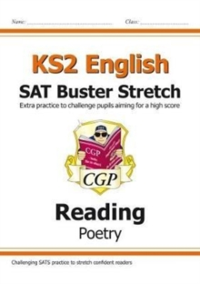New KS2 English Reading SAT Buster Stretch: Poetry (for the 2020 tests), Paperback / softback Book