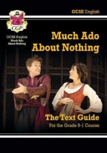 Grade 9-1 GCSE English Shakespeare Text Guide - Much Ado About Nothing, Paperback / softback Book