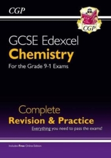 New Grade 9-1 GCSE Chemistry Edexcel Complete Revision & Practice with Online Edition, Paperback / softback Book