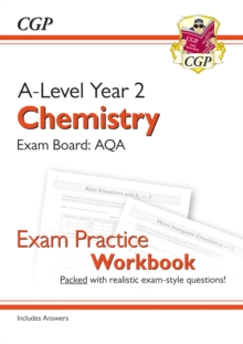 New A-Level Chemistry for 2018: AQA Year 2 Exam Practice Workbook - includes Answers, Paperback / softback Book