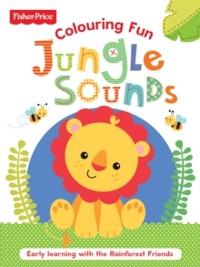 Fisher Price Jungle Shapes, Paperback Book