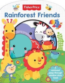 Fisher Price Rainforest Friends - Cut Through, Paperback Book
