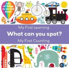 What Can You Spot? Learning & Counting, Paperback Book