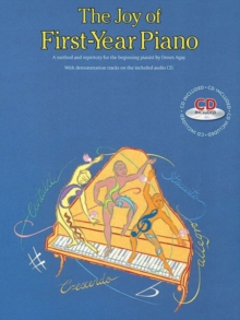 The Joy Of First-Year Piano (With CD), Paperback / softback Book