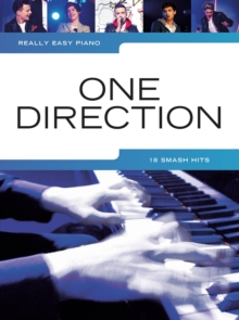 Really Easy Piano : One Direction, Paperback Book