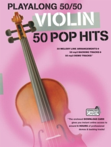 Playalong 50/50 : Violin - 50 Pop Hits, Paperback Book