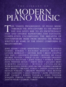 The Library Of Modern Piano Music, Paperback Book