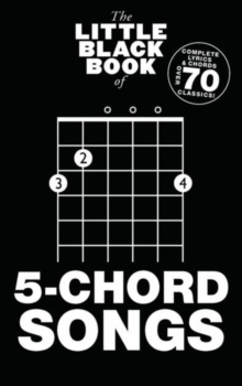 The Little Black Book Of 5-Chord Songs, Paperback Book